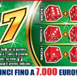 """Gratta e Vinci: al via la lotteria istantanea """"Fai7″"""