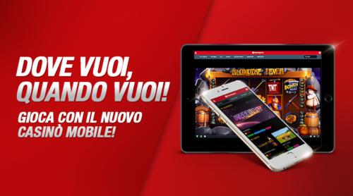 Giochi online la nuova versione mobile del sito for Sito mobili online