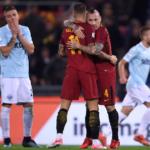 Serie A: la Lazio raggiunge la Roma e parte la corsa al terzo posto. Domenica derby della capitale, biancocelesti favoriti a 2,55