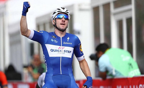 Vuelta: tappa a King, Yates nuovo leader