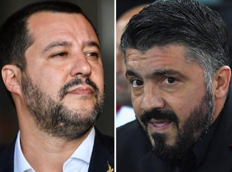 Gattuso contro Salvini: